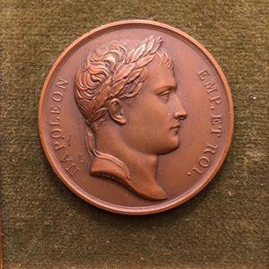 Accessories - Rare early 1800's Napoleon Bronze Medallion